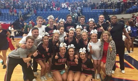 FCHS Cheer team prepares for state after first place win