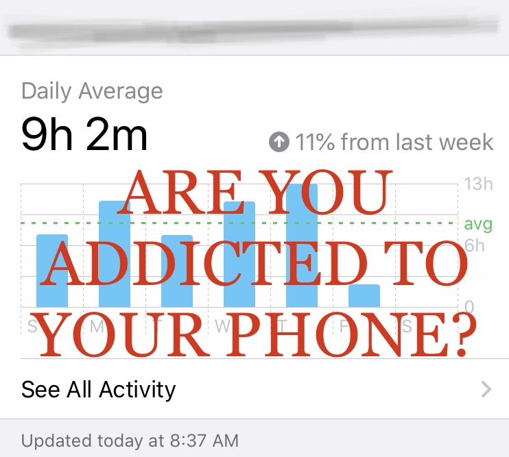 Are you addicted to your phone?