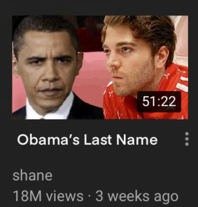 What is Obama's Last Name?